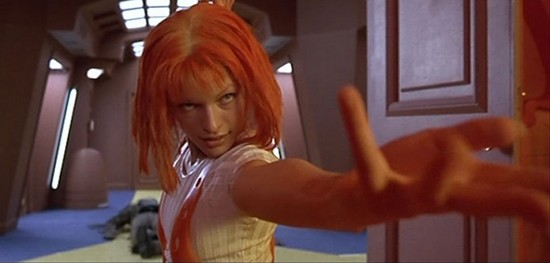 "Leeloo in ""The Fifth Element,"" 1997"
