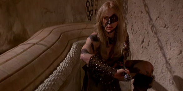 Valeria in Conan the Barbarian, 1982