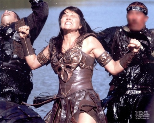 xena double punch