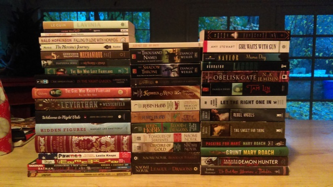 Alchemy To Yamada The 2016 Book Haul Is Here Samtastic Books