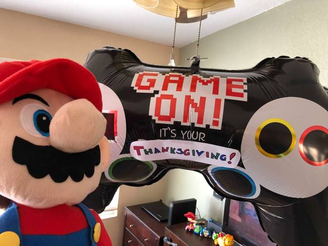 mario thanksgiving